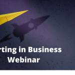 Starting in Business Webinar